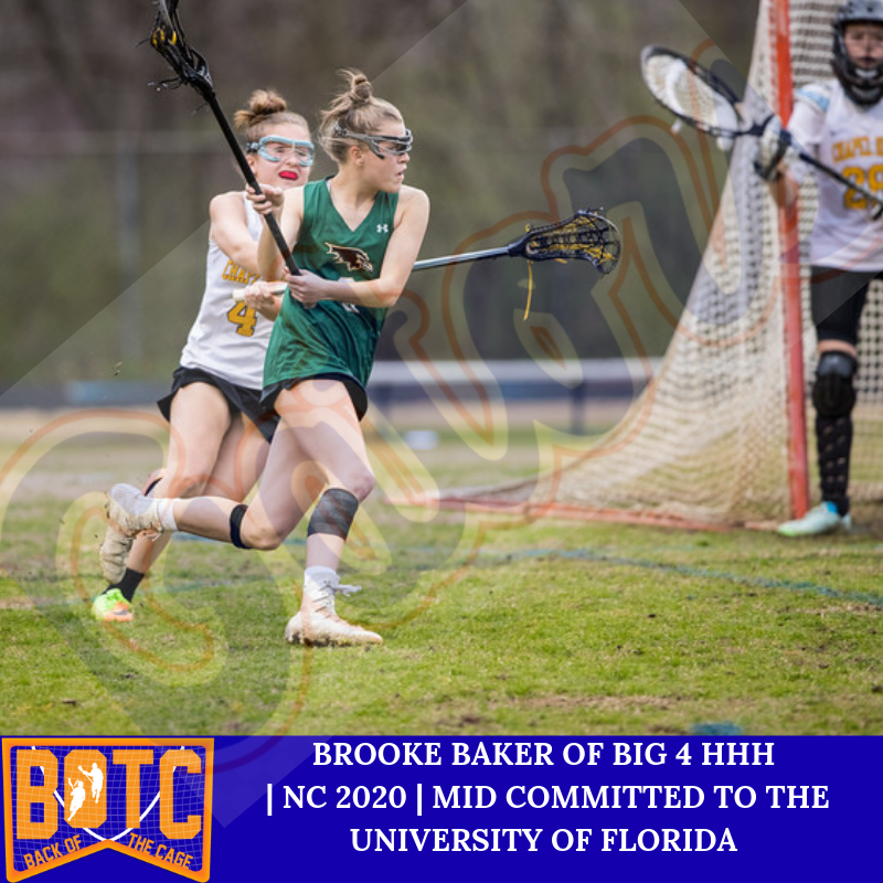 Ravenscroft NC 2020 Mid Brooke Baker Commits to University
