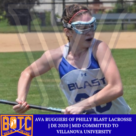 AVA RUGGIERI OF PHILLY BLAST LACROSSE  | DE 2020 | MID COMMITTED TO  VILLANOVA UNIVERSITY.PNG